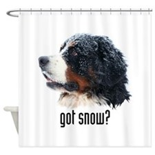 got snow.png Shower Curtain