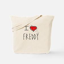 i love Halloween Freddy Tote Bag