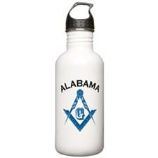 Alabama Freemason Water Bottle