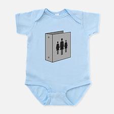Binders Full of Women Infant Bodysuit