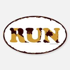 Mud Run Decal