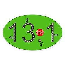 13.1 Street 1/2 Marathon Bumper Sticker 2