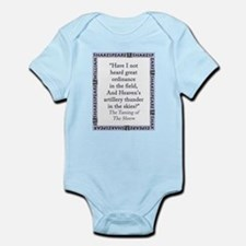 Have I Not Heard Great Ordinance Infant Bodysuit