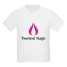 practical magic wiccan witchcraft pagan fire Shirt