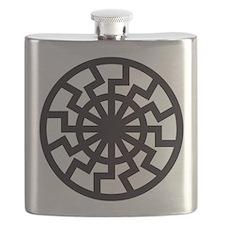 black sun Flask