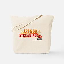 Streaking Tote Bag
