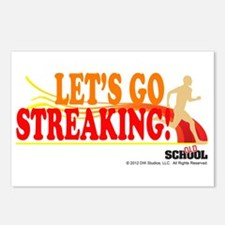 Streaking Postcards (Package of 8)