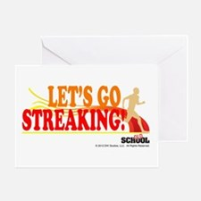 Streaking Greeting Card