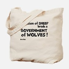 Government of Wolves Tote Bag