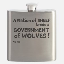 Government of Wolves Flask