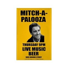 Mitch-A-Palooza Rectangle Magnet