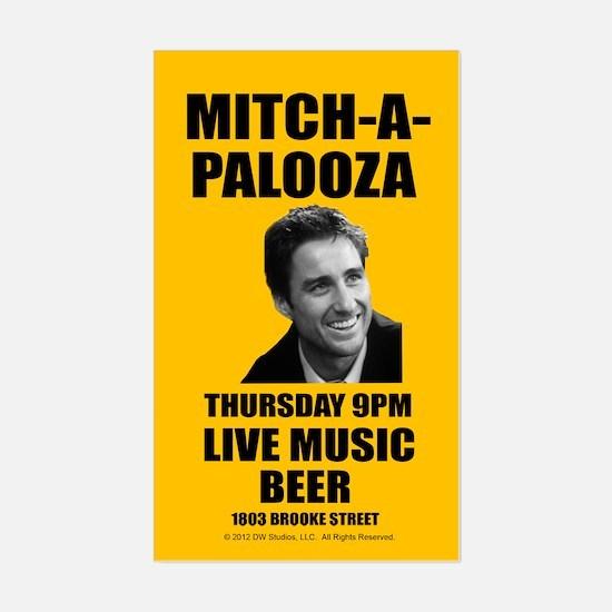 Mitch-A-Palooza Sticker (Rectangle)