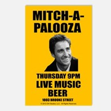 Mitch-A-Palooza Postcards (Package of 8)