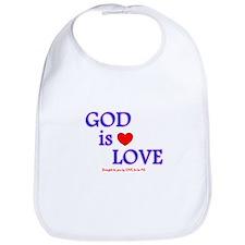 GOD IS LOVE Bib