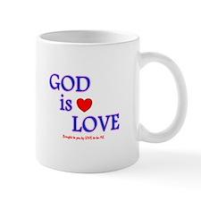 GOD IS LOVE Small Mug