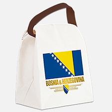 BosniaHerzegovina (Flag 10)2.png Canvas Lunch Bag