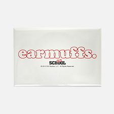earmuffs. Rectangle Magnet