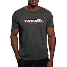 earmuffs. T-Shirt