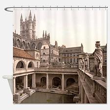 Roman Baths and Abbey Shower Curtain