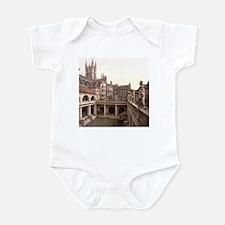 Roman Baths and Abbey Infant Bodysuit