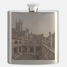 Roman Baths and Abbey Flask
