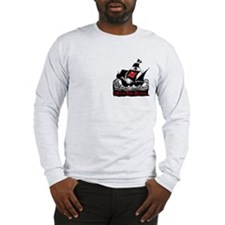 Red Tide Pirates Long Sleeve T-Shirt