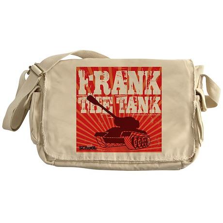 Frank The Tank Messenger Bag