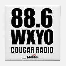 Cougar Radio Tile Coaster
