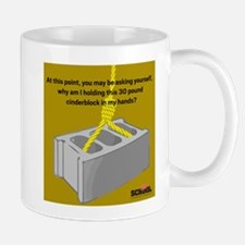 Cinder Block Mug