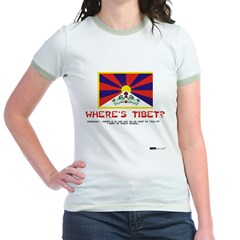 Where's Tibet. Seriously... T