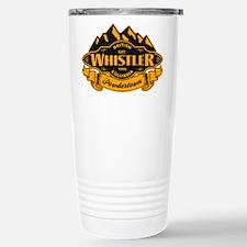Whistler Mountain Emblem Stainless Steel Travel Mu
