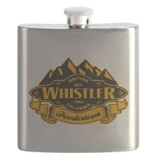 Whistler Mountain Emblem Flask