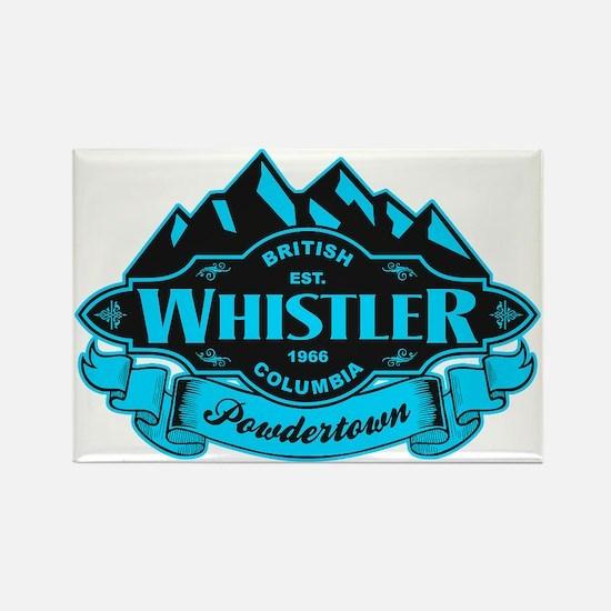 Whistler Mountain Emblem Rectangle Magnet