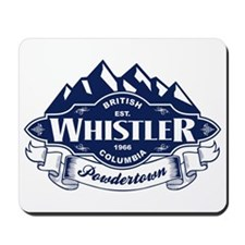 Whistler Mountain Emblem Mousepad