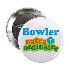 """Bowler Extraordinaire 2.25"""" Button"""