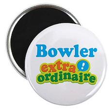 Bowler Extraordinaire Magnet