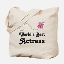 Actress (Worlds Best) Tote Bag