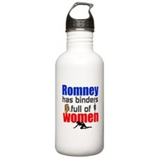 Binders full of women Water Bottle