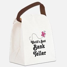 Bank Teller (Worlds Best) Canvas Lunch Bag