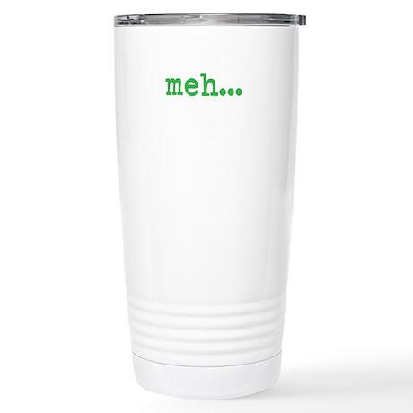 Meh Stainless Steel Travel Mug
