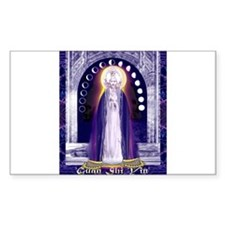 KUAN YIN WATER-MOON GODDESS BLESSINGS Decal