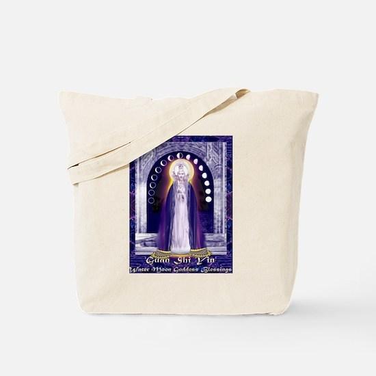 KUAN YIN WATER-MOON GODDESS BLESSINGS Tote Bag