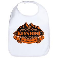 Keystone Mountain Emblem Bib