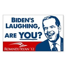 Smiley Biden Decal