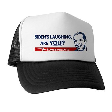 Smiley Biden Trucker Hat
