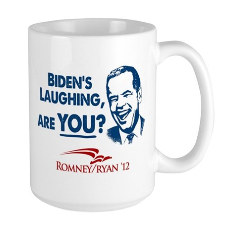 Smiley Biden Large Mug