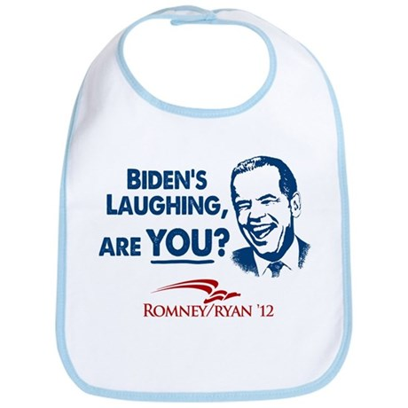 Smiley Biden Bib