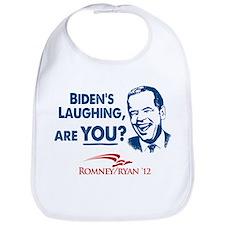 Smiley Biden Bib