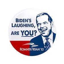 """Smiley Biden 3.5"""" Button (100 pack)"""