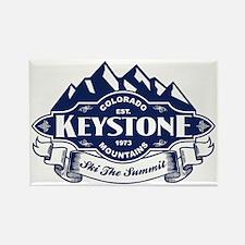 Keystone Mountain Emblem Rectangle Magnet